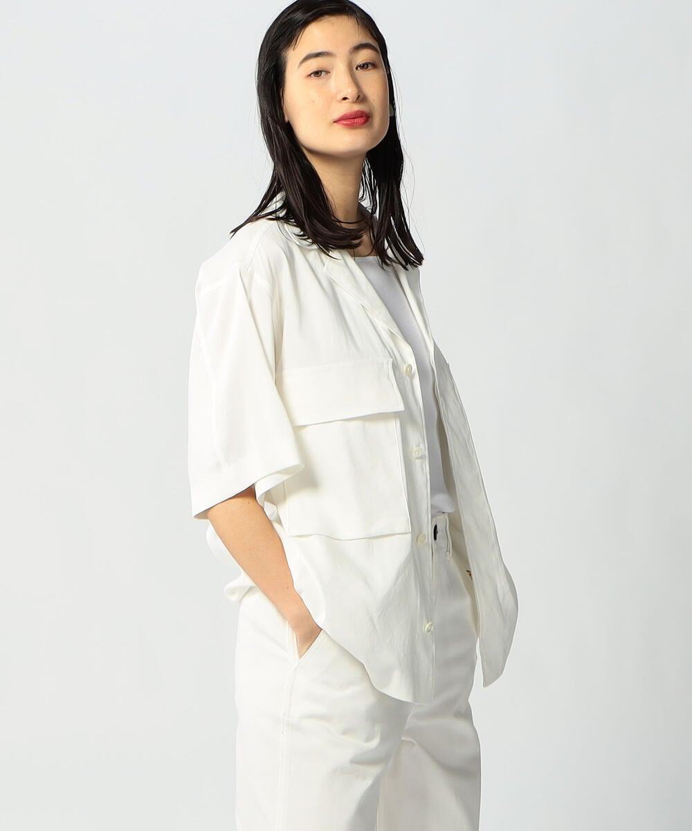 VI/LI STRETCH ミリタリーシャツジャケット