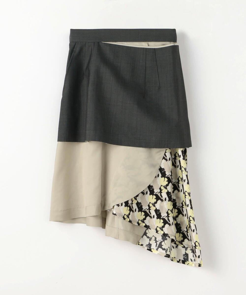 TOGA ウールモヘヤ プリントスカート