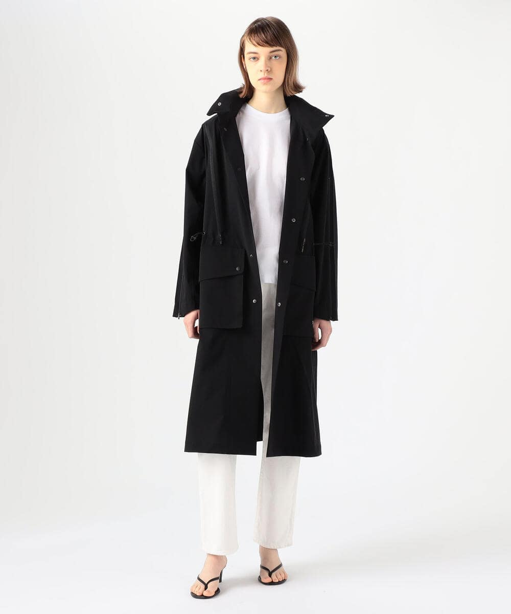 TOGA × SPEEDO ナイロンポリウレタン フーデッドコート