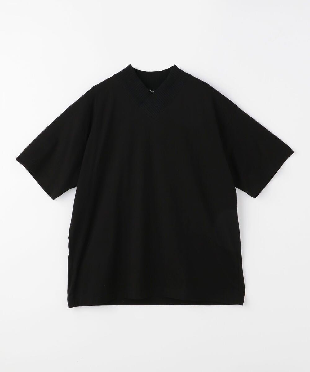 PIMA COTTON ニットカラーTシャツ