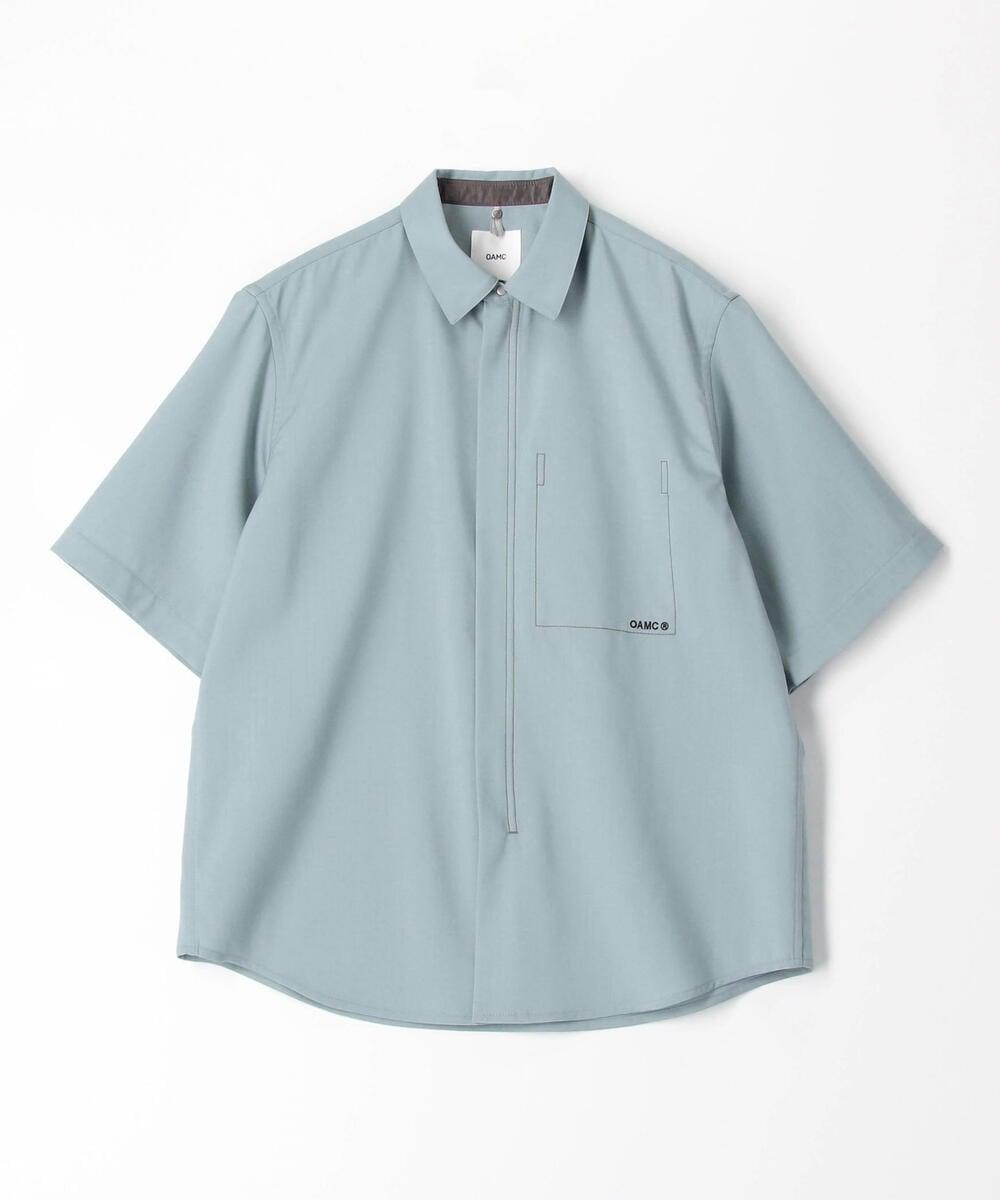 【別注】OAMC×Edition ハーフスリーブジップアップシャツ