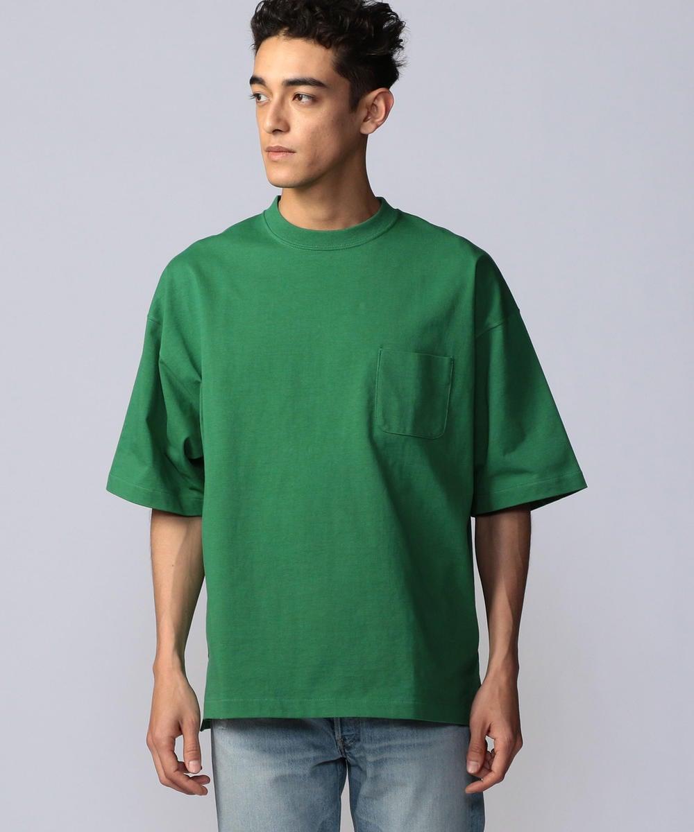 fitfor VORTEX WIDE BOX コットン クルーネックショートスリーブビッグTシャツ