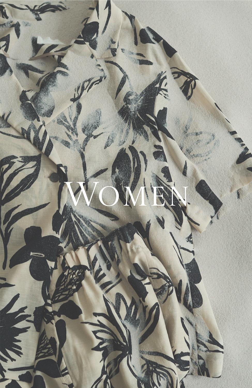 WOMEN TOP 5/8〜