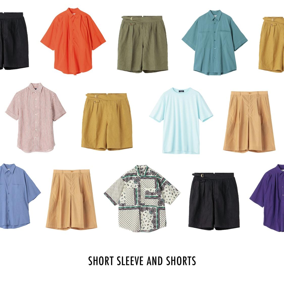 SHORT SLEEVE AND SHORTS