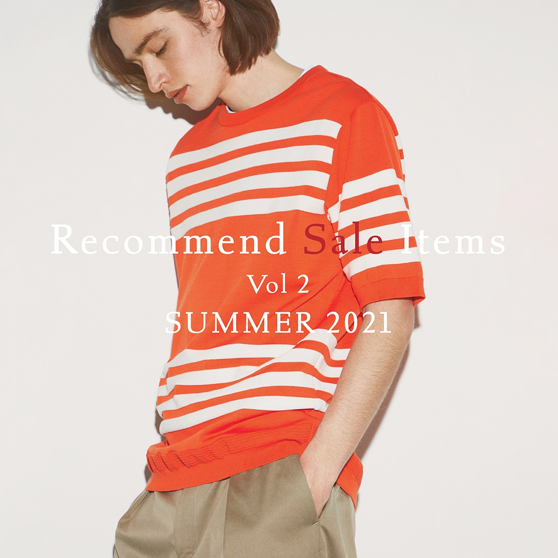 Recommend Sale Items for men Vol2 SUMMER 2021